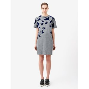 Swallow Signature T Shirt Dress McQ | 连衣裙
