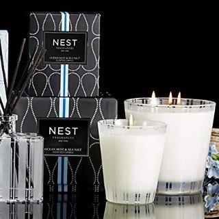 $33.6闪购:NEST 海雾与海盐经典香氛蜡烛,8.1 Oz