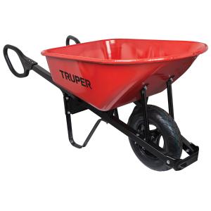 Truper 6-cu ft Steel Wheelbarrow @ Lowes