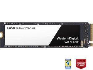 $99.99西数黑盘 WD Black 500GB NVMe PCIe M.2 2280 高性能固态硬盘