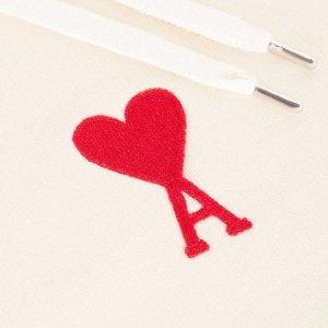 新品8折 £148收大爱心衬衣AMI Paris 小红心潮牌大促 夏日薄荷绿、香芋紫上线