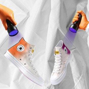 8月2日 美东10点 $95+包邮Converse X CHINATOWN MARKET联名合作款 变色帆布鞋