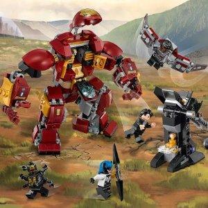现价£22.49(原价£29.99)LEGO 乐高 超级英雄系列 76104 钢铁侠反浩克装甲特卖