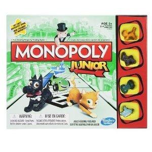 Hasbro儿童欢乐玩具大富翁 儿童可玩版