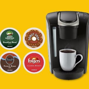 相当于买胶囊免费送咖啡机限今天:Keurig® 官网 买任意咖啡机送最多96粒胶囊,价值高达$71.96