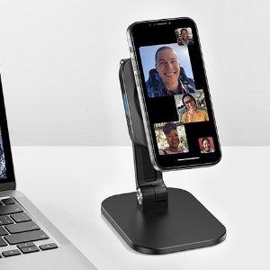 折后€26.99 拿取更方便ESR HaloLock Mag-Safe 磁性无线充电架 匹配iPhone 12系列
