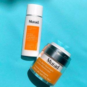 送护肤3件套Murad 视黄醇面部精华 最强抗老成分 早C晚A快安排