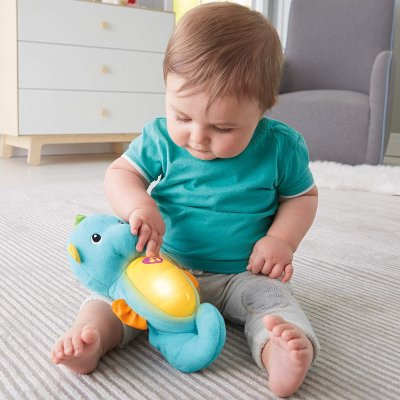 $10.49Fisher-Price Soothe and Glow Seahorse, Blue