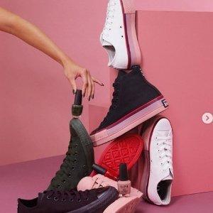 低至5折 £40收全明星季节限定款折扣升级:Converse 折扣大促区降价上新 近500件潮衣潮鞋参与