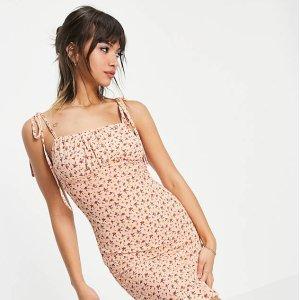 1折起+额外9折 £10起就收ASOS 碎花裙专场 新配色上线 法式小仙女出街必备