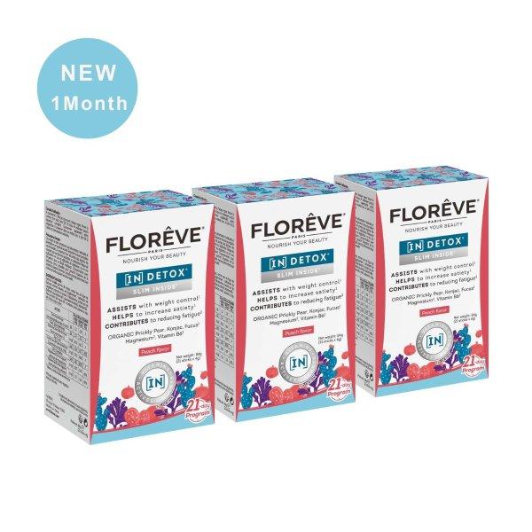 仙人掌果纤体冲剂 1个月疗程套组