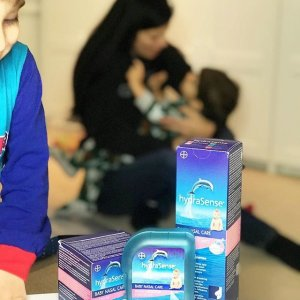 $10.99 必备囤货hydraSense 儿童、成人鼻部清洗海盐喷雾  洗鼻器补货