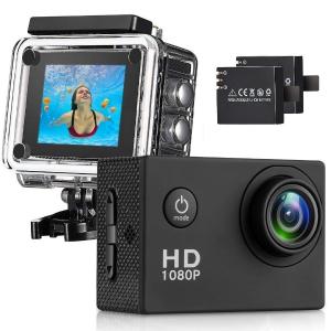 $34.99(原价$299.99)闪购:T-mars 140度广角高清运动摄像机