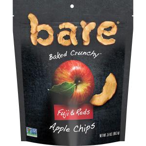 Bare 烘烤纯天然红富士苹果片 3.4oz 6包