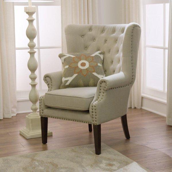 高背布艺沙发椅