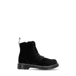 黑丝绒马丁靴