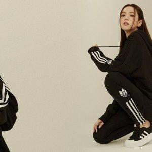 Adidas智秀海报款!Adicolor 3D高腰打底裤