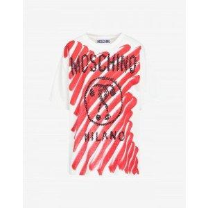 Moschino涂鸦上衣