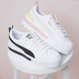 $90+包邮 多色可选上新:PUMA官网 Dua Lipa同款Mayze Luxe厚底松糕鞋火热上架