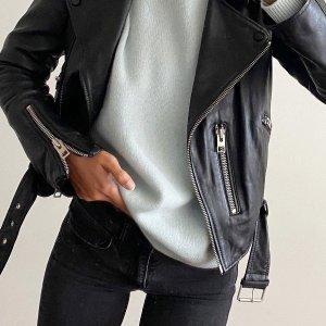 全场7折 版型最好的必备皮衣AllSaints官网 黑五预热 好价收经典皮衣、明星同款