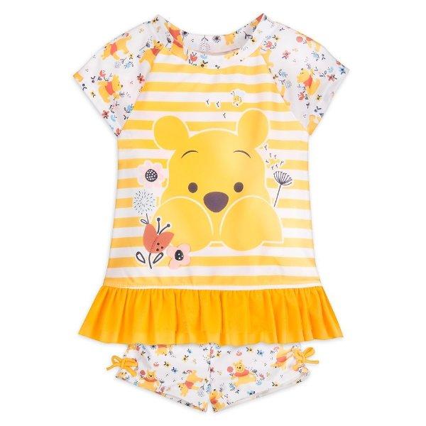 Winnie the Pooh 女小童泳装套装