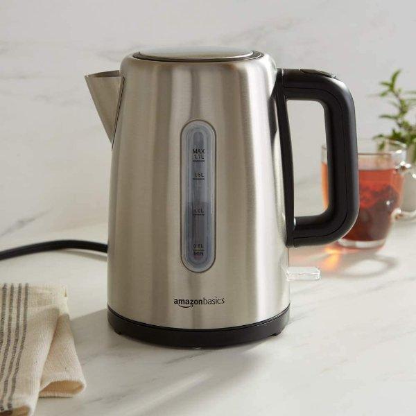 电热水壶1.7升,自动断电防烧干