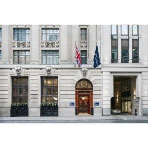 不同日期价格浮动伦敦市中心酒店