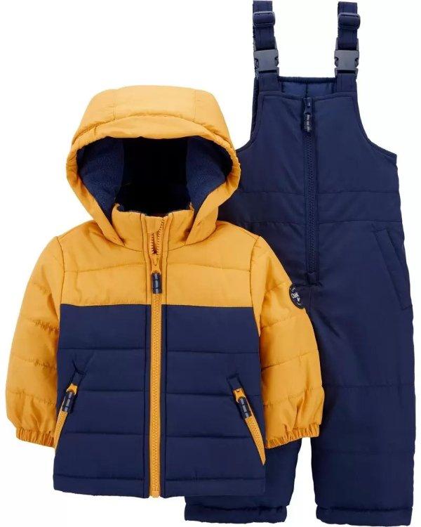 婴儿、幼童雪服套装