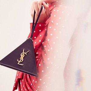 低至5折 超多款式都有货Saint Laurent 女士logo链条包、双肩包热卖