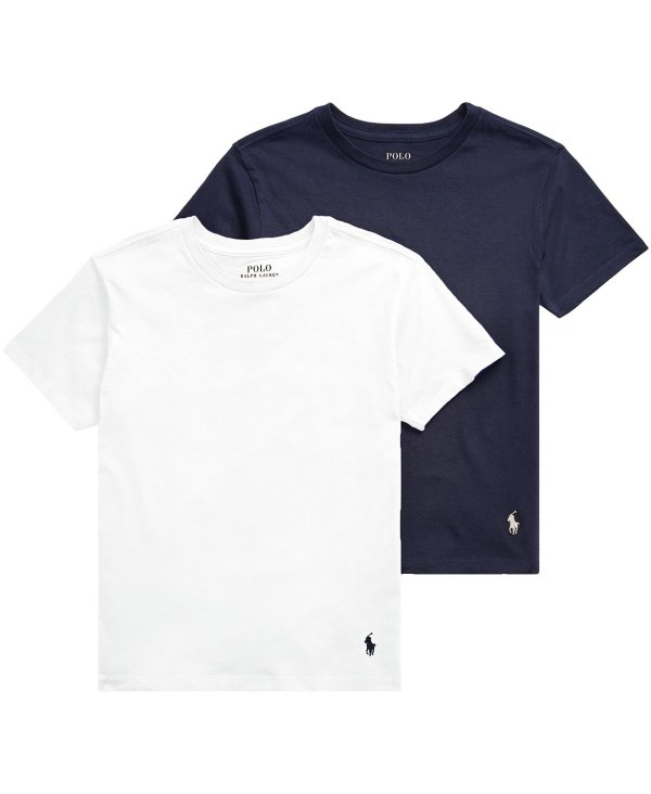 男大童圆领T恤2件套