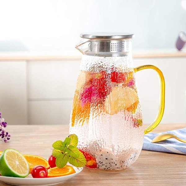 HIHUOS 1.6升玻璃冷水壶