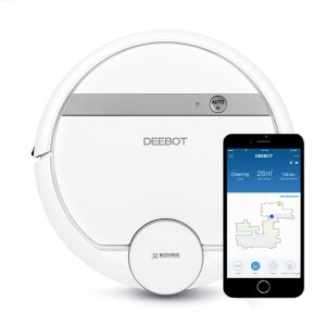 $270Ecovacs DEEBOT 900 Smart Robotic Vacuum Cleaner with Advanced Navigation & Mapping @ Target
