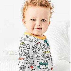 低至4折+ 满$40享额外8折+包邮折扣升级:Carter's官网 儿童睡衣/居家服热卖,连体衣降价 秋冬款都参加