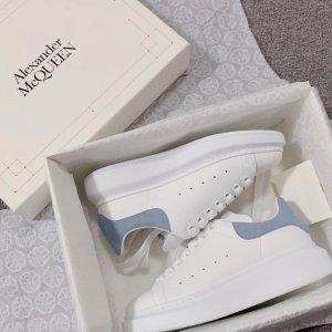 Alexander McQueen41码最后1双蓝尾小白鞋
