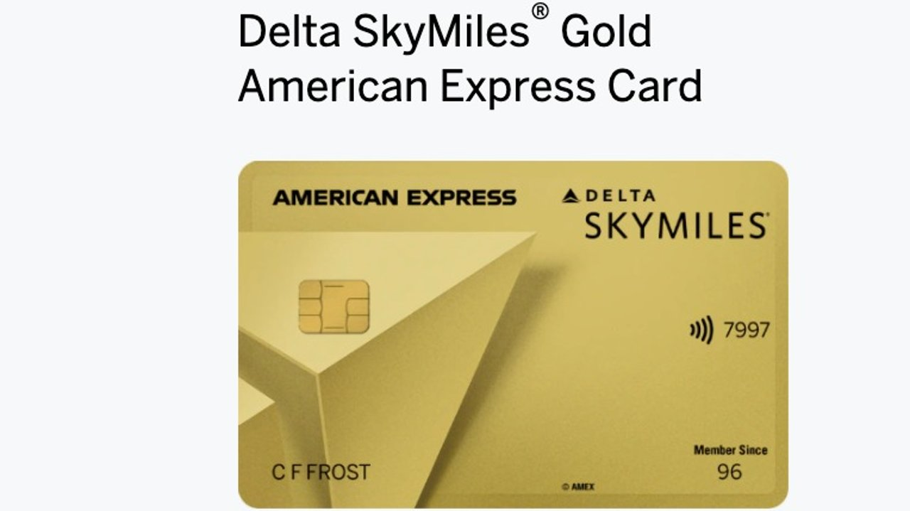AmEx Delta SkyMiles Gold 信用卡简介