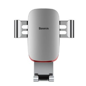 Baseus金属车载手机架 出风口万向全自动 重力支架