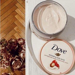 $4.99起Dove 多芬 乳木果石榴身体磨砂膏 米浆香甜款 夏日光滑肌必备