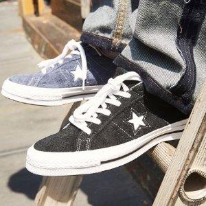 低至3折+额外9折 £35收高帮帆布鞋街头潮鞋专场折上折大促 匡威、Puma、Vans、TB