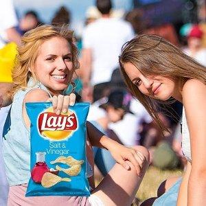 薯片40包$9.42起   每包仅$0.24白菜价:Frito Lay 品牌薯片洋葱圈等零食热卖 好价回归