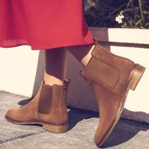 低至5折 €59收高跟鞋上新:Clarks官网 精选鞋靴惊喜大促 舒适感与美貌并存