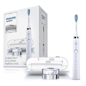 直邮到手$146限今天:Philip DiamondClean 深层清洁旗舰款电动牙刷,白色