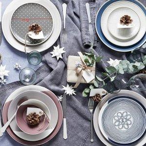 满£120减£15Royal Doulton 皇室认证餐瓷品牌 骨瓷餐具特惠中