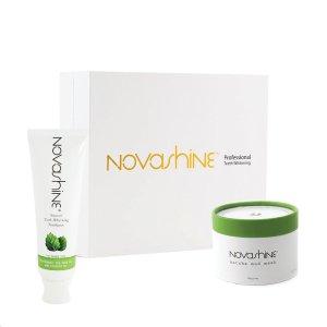 Novashine Ultimate Bundle | Teeth Whitening Kit, Mask & Toothpaste