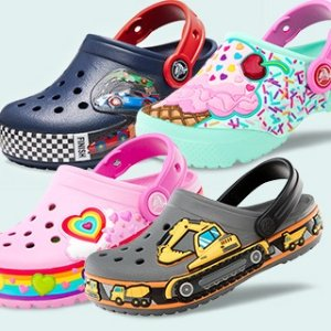 Last Day: Up to 60% Off + Extra 25% OffKids Footwear @ Crocs