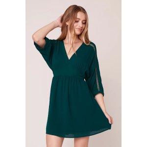 Wishful Thinking Dolman Sleeve Dress