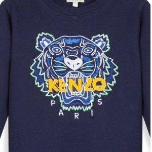 8.5折+包邮 上新多款虎头卫衣即将截止:Kenzo 童装优惠 超多新款都参加 卫衣、T恤码全 有大童码