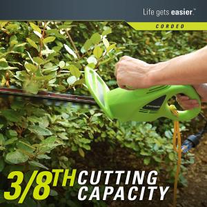 $34.99(原价$49.98)GreenWorks 2.7安培45cm电动修枝机 轻便好操作