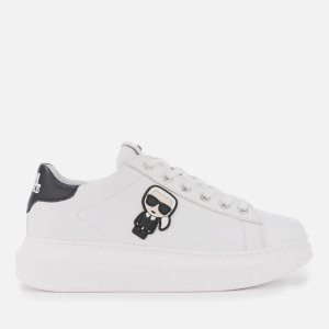 Karl Lagerfeld满$365享75折Kapri Karl 经典小白鞋