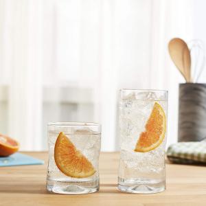 $13.99(原价$19.99)史低价:Libbey Impressions 玻璃杯16件套 冰爽饮品让你清凉一夏