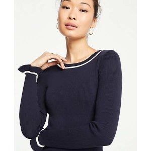 Ann TaylorRuffle Cuff Sweater | Ann Taylor
